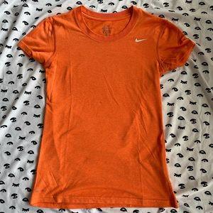 Orange Nike Dri-Fit Top